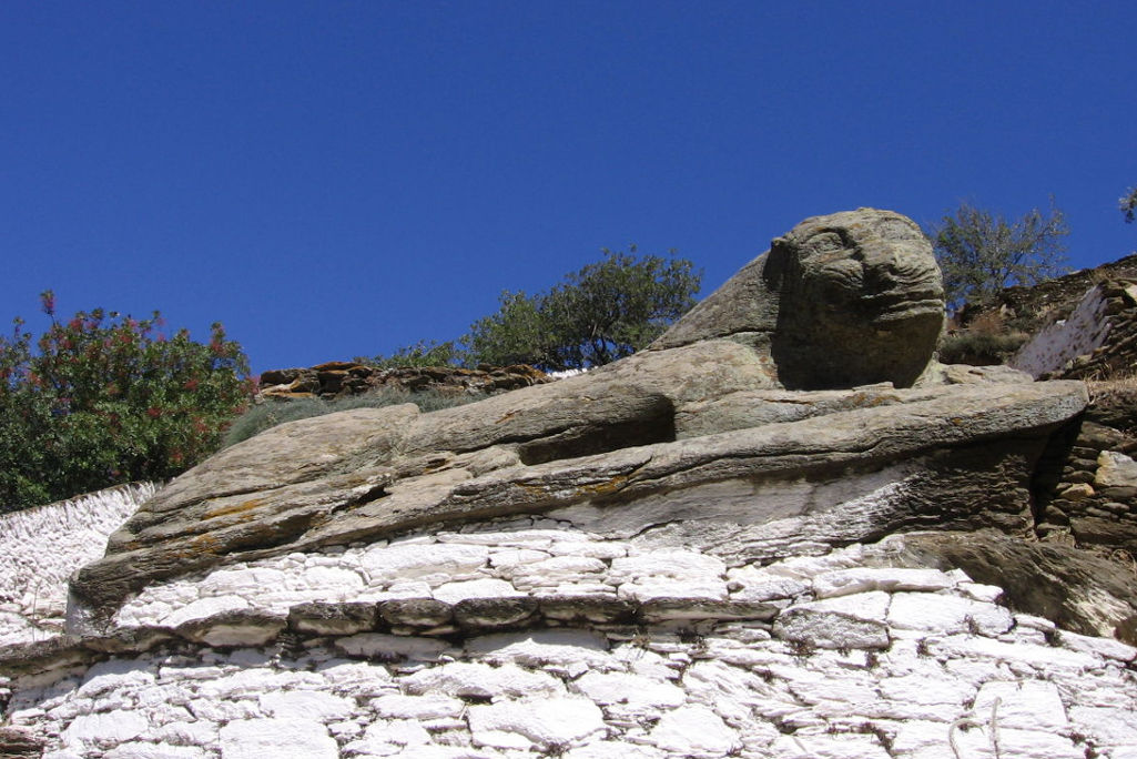 The Iconic Stone Lion of Kea